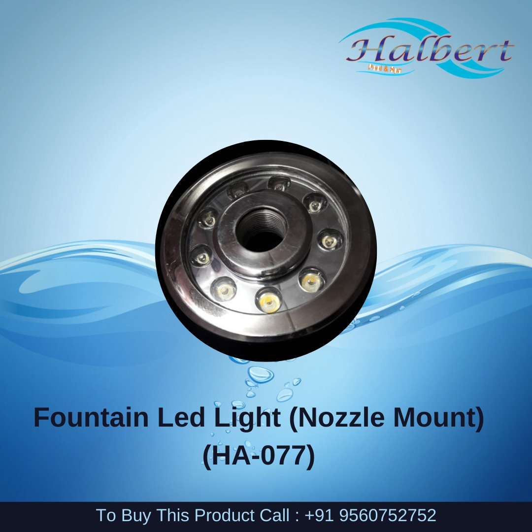 Fountain Led Light (Nozzle Mount)
