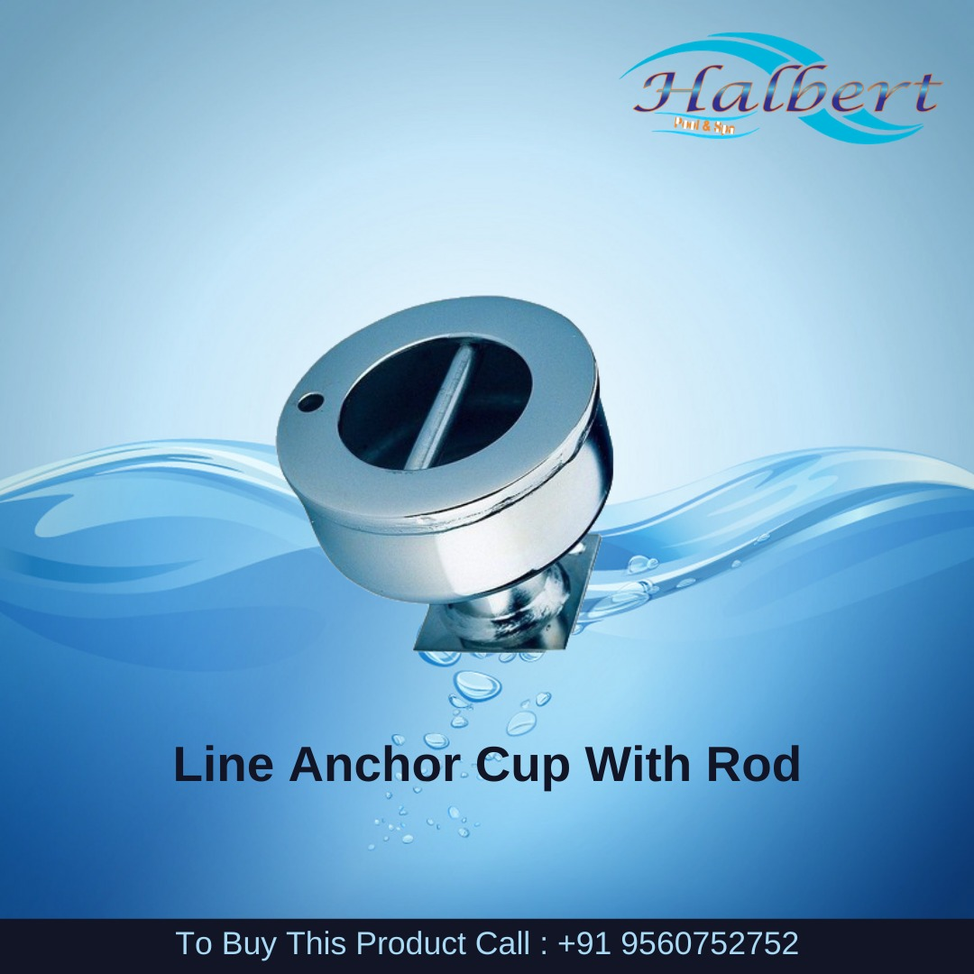 Line Anchor Cup With Rod