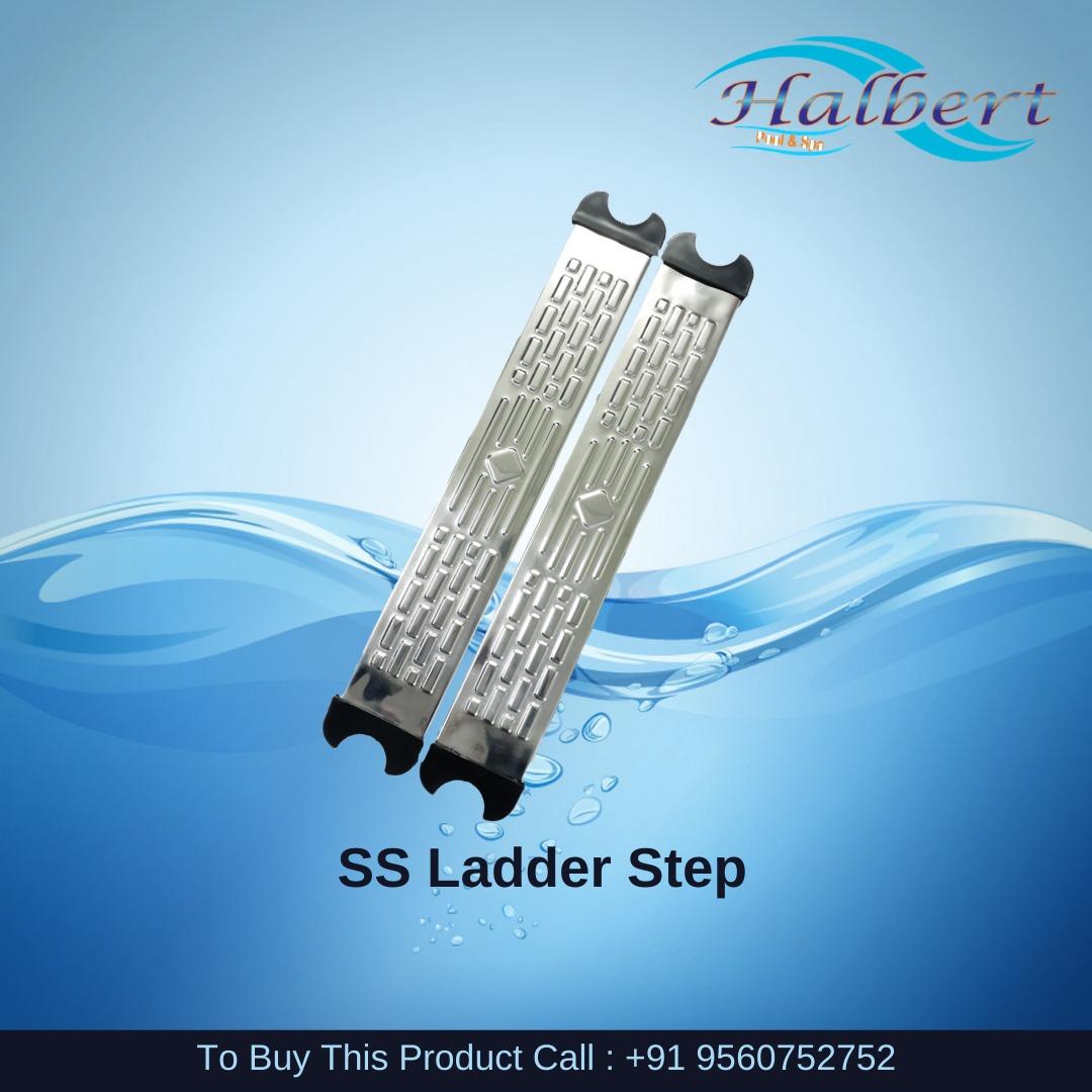 Pool SS Ladder Steps