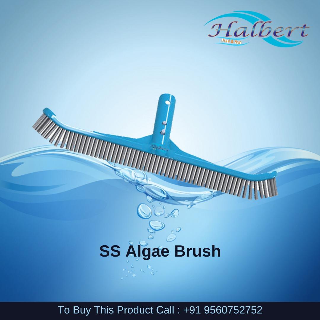 """Deluxe Stainless Steel Algae Brush 18"""""""