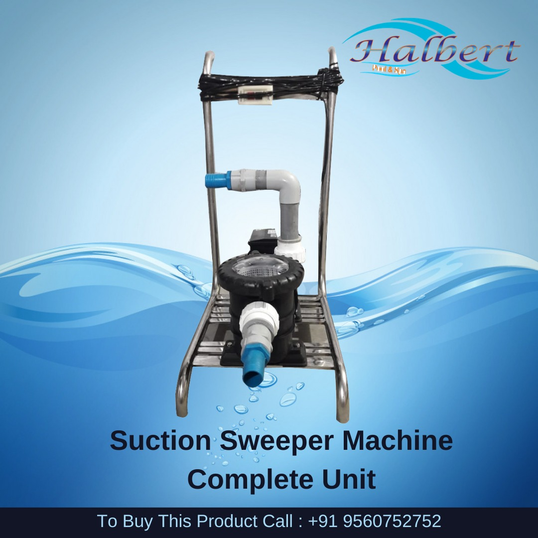 Suction Sweeper Machine Complete Unit