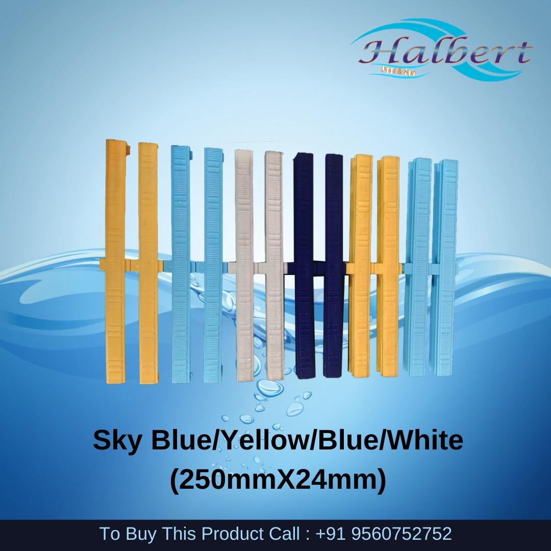 Sky Blue/Yellow/Blue/White (250mmX24mm)
