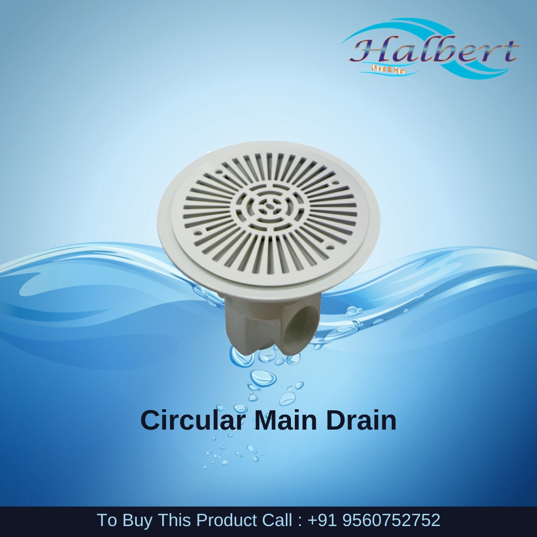 Circular Main Drain