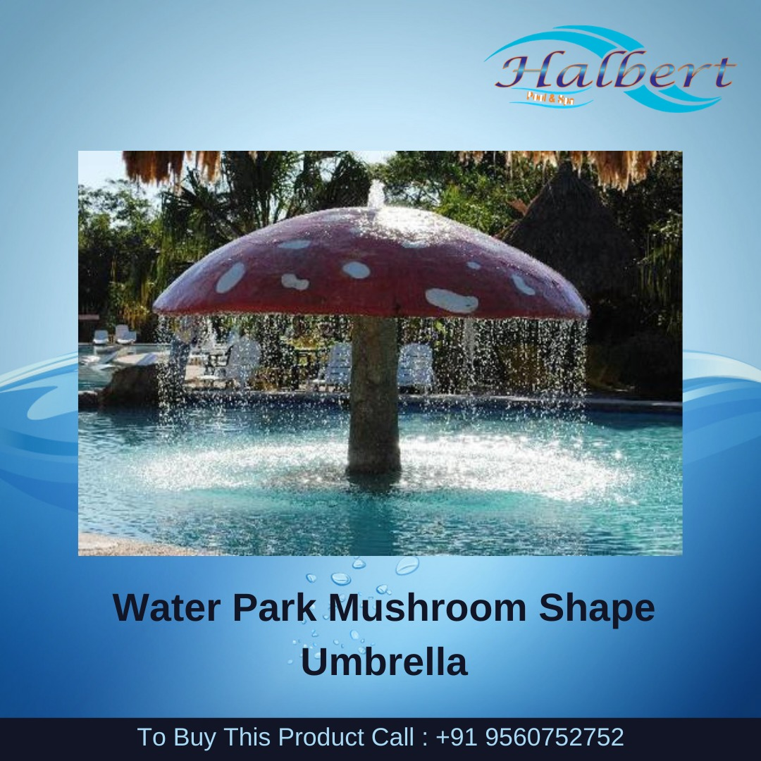 WATER PARK MUSHROOM SHAPE UMBRELLA