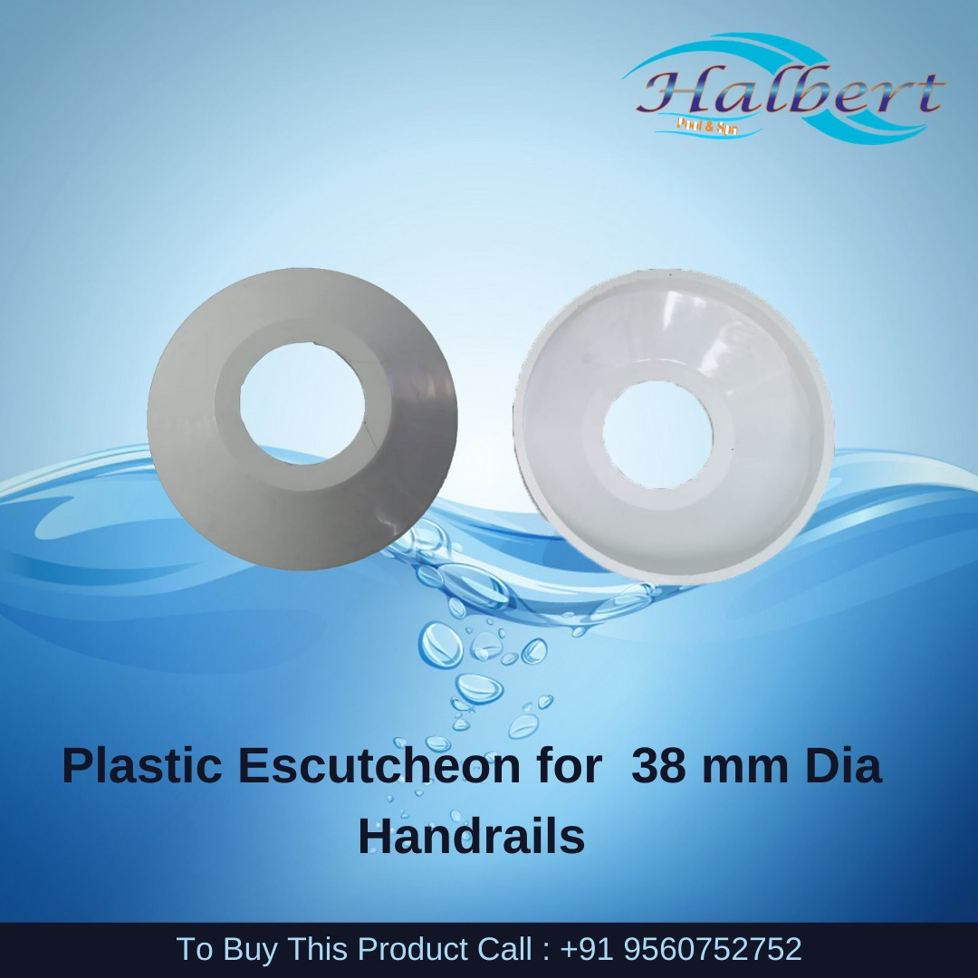 Plastic Escutcheon For 38 Mm Dia Handrails