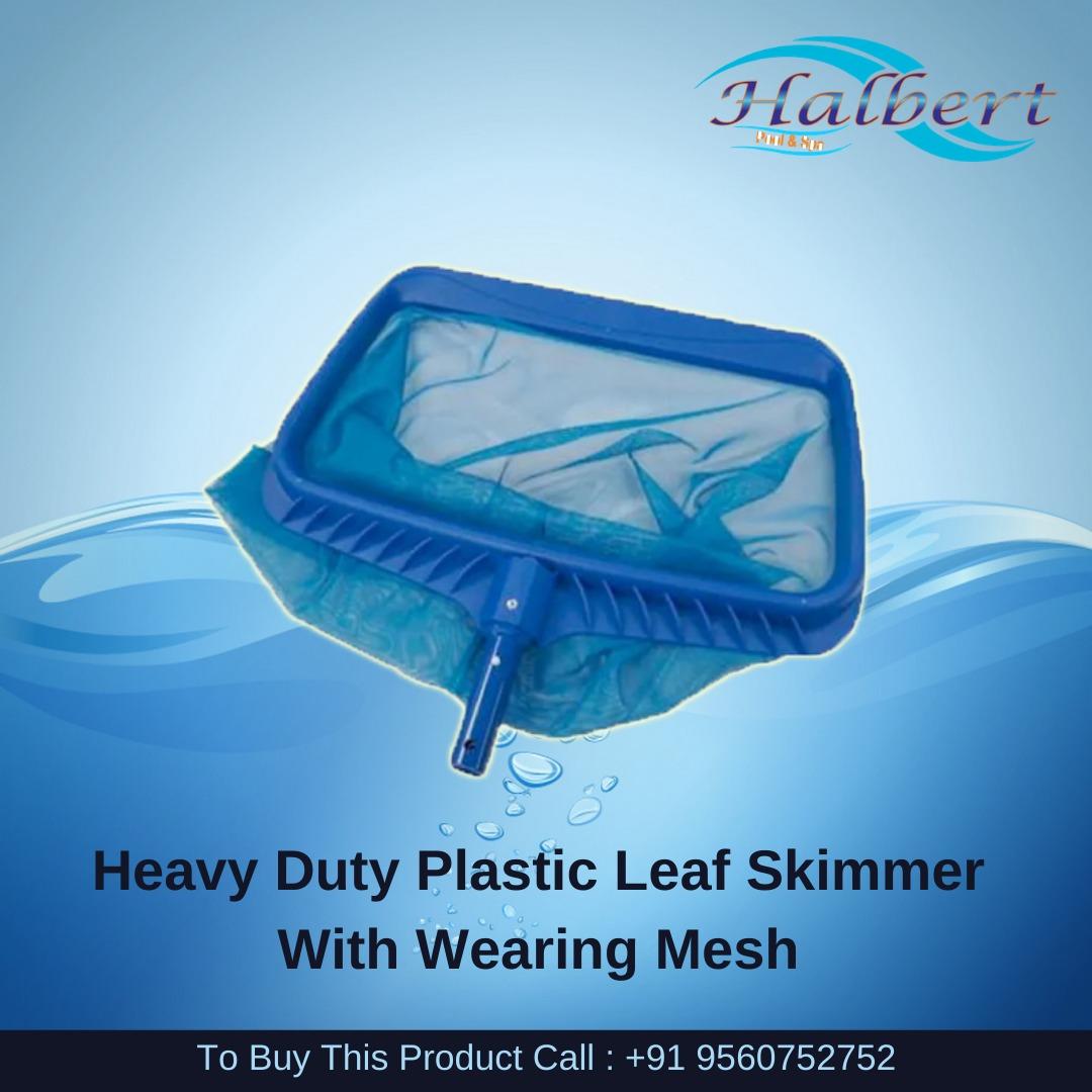 Heavy Duty Plastic Leaf Skimmer With Wearing Mesh