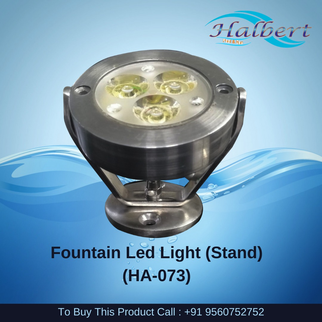 Fountain Led Light (Stand)