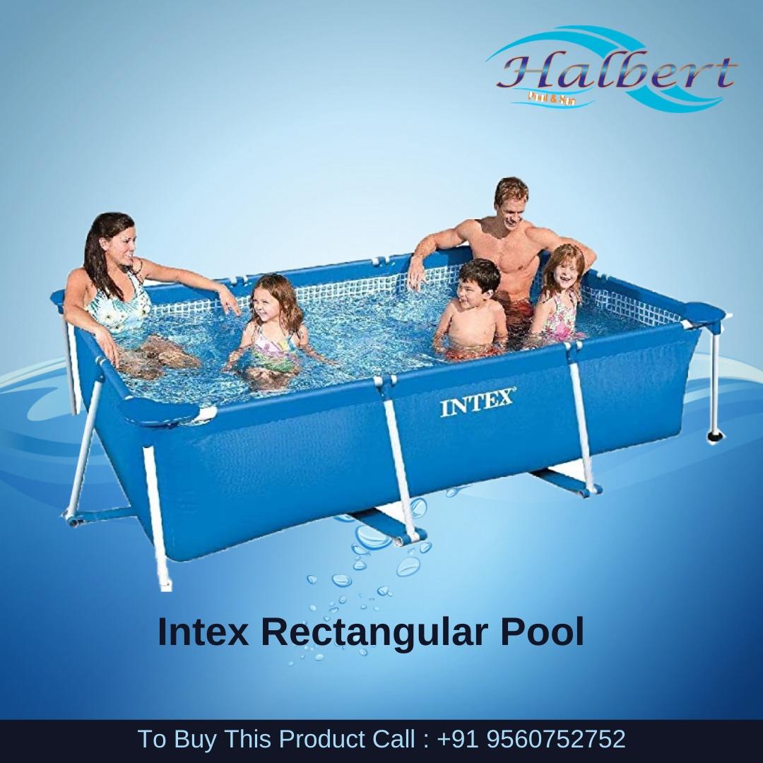 Intex Rectangular Pool